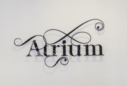 Комплексное интерьерное оформление для «Atrium»