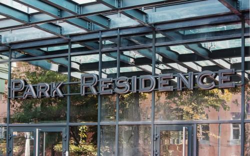 Наружная вывеска для «Park Residence»