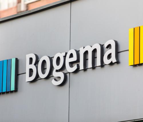 Вывеска для магазина «Bogema»