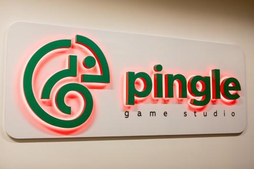 Интерьерная вывеска «Pingle»