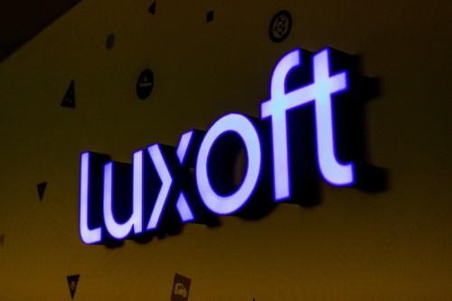 Интерьерная вывеска для «Luxoft»