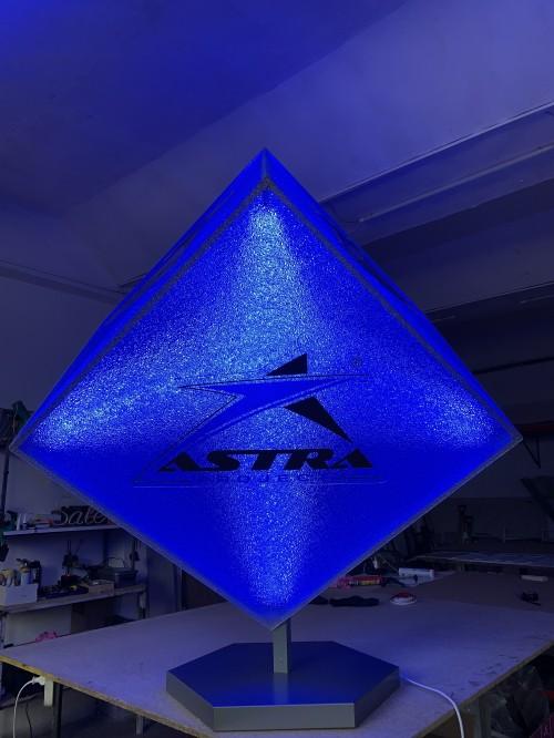 """Световой куб для компании """"ASTRA project"""""""